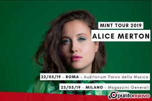Alice Merton arriverà in Italia il 22 Maggio all'Auditorium Parco della Musica di Roma e il 23 Maggio ai Magazzini Generali di Milano.
