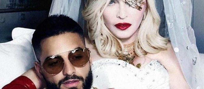 """La Regina del Pop Madonna, è tornata! Si prospetta un ritorno in pompa magna con questo nuovo singolo """"Medellín"""", in uscita il 17 Aprile con il feat. del'artista colombiano Maluma."""