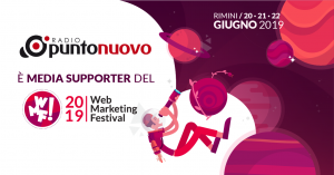 Radio Punto Nuovo, media supporter dell'edizione 2019 del Web Marketing Festival